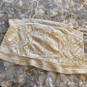 American Eagle Lace Halter Top/Camisole